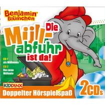 Benjamin Blümchen - Die Müllabfuhr ist da (2 CDs)