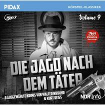 Pidax Hörspiel Klassiker - Die Jagd nach dem Täter - Vol. 9