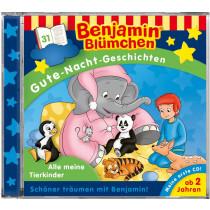 Benjamin Blümchen - Gute-Nacht-Geschichten - Folge 31: Alle meine Tierkinder