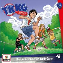 TKKG Junior - Folge 11: Rote Karte für Betrüger