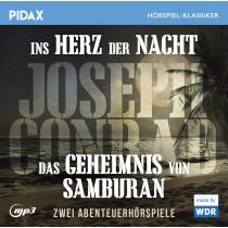 Pidax Hörspiel Klassiker - Joseph Conrad: Ins Herz der Nacht + Das Geheimnis von Samburan