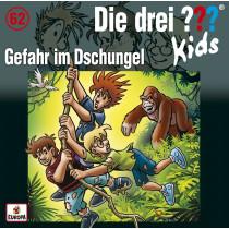 Die drei ??? Fragezeichen Kids - Folge 62: Gefahr im Dschungel