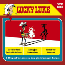Lucky Luke - 3-CD Hörspielbox Vol.1