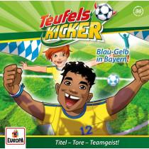 Teufelskicker 86 Blau-Gelb bei den Bayern!