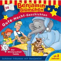 Benjamin Blümchen - Gute-Nacht-Geschichten - Folge 28: Der Winterschlaf-Teddy