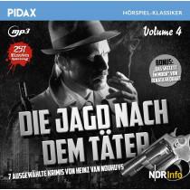 Pidax Hörspiel Klassiker - Die Jagd nach dem Täter - Vol. 4