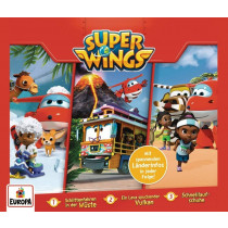 Super Wings - 3er Box 1: Folgen 1, 2, 3