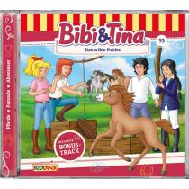 Bibi und Tina - Folge 93: Das Wilde Fohlen (CD)