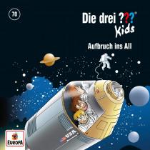 Die drei ??? Fragezeichen Kids - Folge 70: Aufbruch Ins All