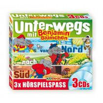 Benjamin Blümchen - Unterwegs mit Benjamin (3 CDs)