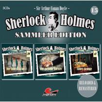 Sherlock Holmes - Sammler Edition - Box 15 (Folge 39, 40, 41)