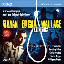 Pidax Hörspiel Klassiker - Bryan Edgar Wallace - Krimibox