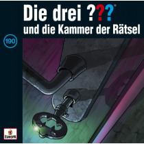 Die drei ??? Fragezeichen - Folge 190: und die Kammer der Rätsel (CD)