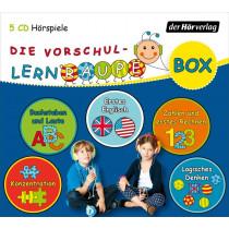 Die Vorschul-Lernraupen-Box (5 CD Hörspiele)