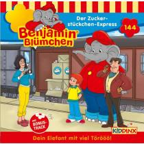 Benjamin Blümchen - Folge 144: Der Zuckerstückchen-Express (CD)