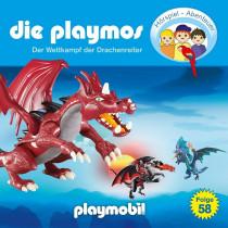 Die Playmos - Folge 58: Der Wettkampf der Drachenreiter