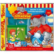Benjamin Blümchen - Folge 141: Nachts in der Erfinderwerkstatt (CD)