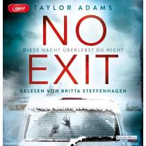 Taylor Adams - No Exit: Diese Nacht überlebst du nicht