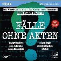 Pidax Hörspiel Klassiker - Fälle ohne Akten