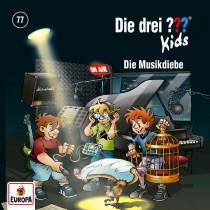 Die drei ??? Fragezeichen Kids - Folge 77: Die Musikdiebe