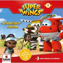 Super Wings - Folge 3: Schnelllaufschuhe