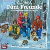 Fünf Freunde Folge 93 und das Geheimnis des Winterwaldes