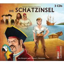 Thomas Tippner - Die Schatzinsel - Hörspiel