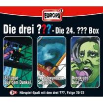 Die drei Fragezeichen Fan Box die 24. Folgen 70 - 72