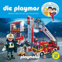 Die Playmos - Folge 57: Wasser Marsch bei der Feuerwehr
