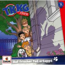 TKKG Junior - Folge 1: Auf frischer Tat ertappt