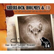 Sherlock Holmes und Co. Krimi-Box 4: mit den Folgen 10-12