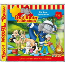 Benjamin Blümchen - Folge 135: Die Zoo-Feuerwehr