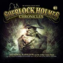 Sherlock Holmes Chronicles 61 Sechsmal Napoelon