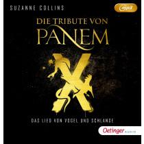 Suzanne Collins - Die Tribute von Panem X: Das Lied von Vogel und Schlange (mp3-CD)