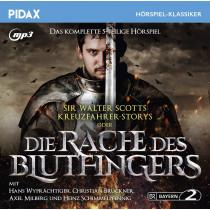 Pidax Hörspiel Klassiker - Sir Walter Scotts Kreuzfahrer-Storys oder Die Rache des Blutfingers