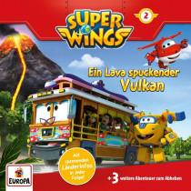 Super Wings - Folge 2: Ein Lava spuckender Vulkan