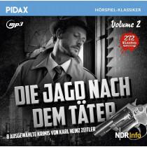 Pidax Hörspiel Klassiker - Die Jagd nach dem Täter - Vol. 2