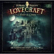 H.P. Lovecraft - Chroniken des Grauens - Folge 3: Die namenlose Stadt (2 Vinyl LP)