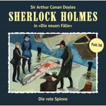 Sherlock Holmes: Die neuen Fälle 38: Die rote Spinne