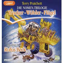 Terry Pratchett - Die Nomen-Trilogie: Trucker - Wühler - Flügel