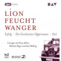 Lion Feuchtwanger - Die »Wartesaal«-Trilogie. Erfolg – Die Geschwister Oppermann – Exil