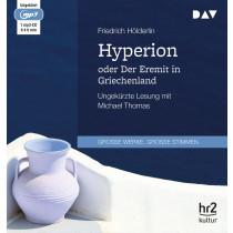 Friedrich Hölderlin - Hyperion oder Der Eremit in Griechenland