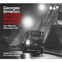 Georges Simenon - Das Rätsel der Maria Galanda. Vier Fälle für Kommissar G7