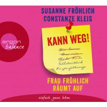 Constanze Kleis, Susanne Fröhlich - Kann weg! Frau Fröhlich räumt auf