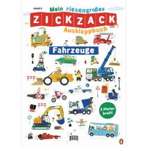 Mein riesengroßes ZICKZACK Ausklappbuch – Fahrzeuge