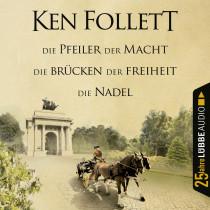 Ken Follett - Die Pfeiler der Macht / Die Brücken der Freiheit / Die Nadel
