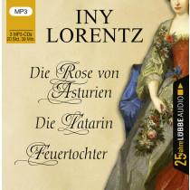 Iny Lorentz - Die Rose von Asturien / Die Tatarin / Feuertochter