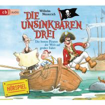 Die Unsinkbaren Drei - Die besten Piraten der Welt auf großer Fahrt - Band 2