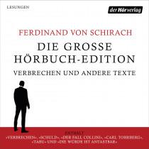 Die große Hörbuch-Edition - Verbrechen und andere Texte