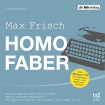 Max Frisch - Homo faber: Hörspiel mit Musik-CD der HR Bigband